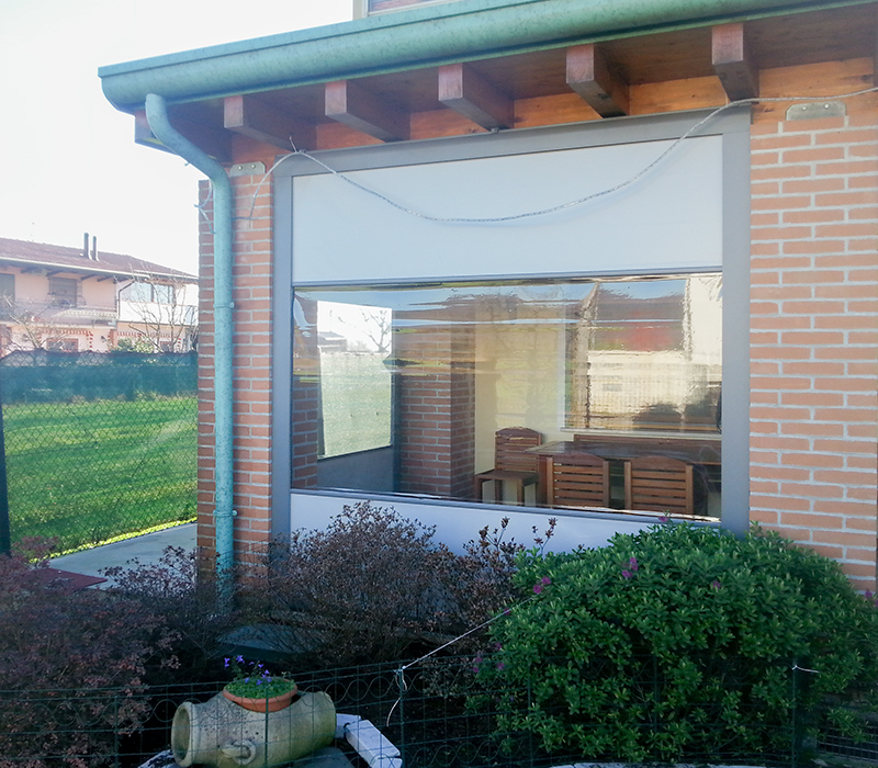 tende esterno veranda